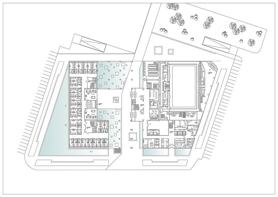 Dormitory Ground Floor Plan Ema Nikolova